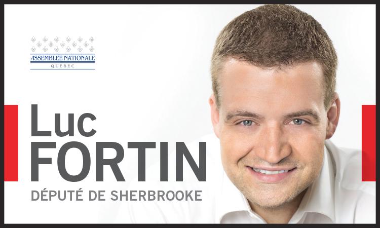 Luc Fortin, député