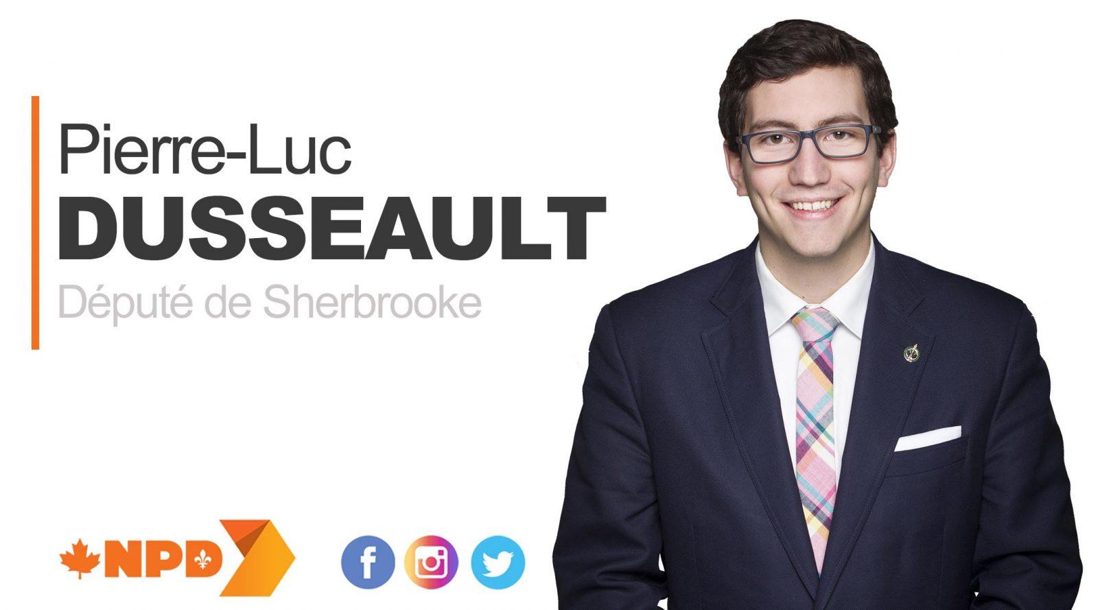 Pierre-Luc Dusseault, député
